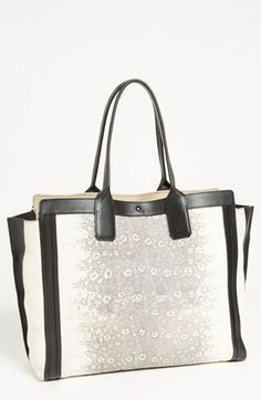 Chloé 'Alison - Lizard' Printed Leather Tote available at #Nordstrom