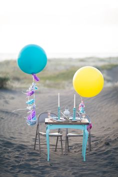 A colourful, bright, bold sweetheart table| Featured on paperandlace.com | Vintage Furniture Hire | www.borrowandbeau.co.nz | Furniture and Styling: Borrow and Beau | Photography: PoppyMoss Photography