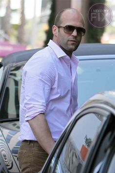 """Here Are Some Jason Statham Eye Candy Photos """"It's Saturday and what better way to celebrate than to gawk at pics of Jason Statham? He was in West Hollywood yesterday having lunch with a friend and..."""