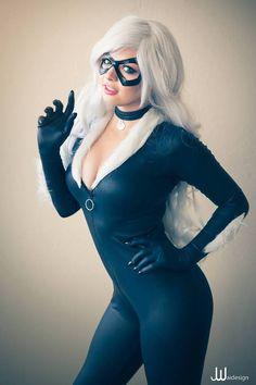 cosplayandgeekstuff:    Oki-Cospi(USA) as Black Cat.Photo by:    JwaiDesign Photography