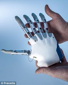 Revealed: The world's first bionic hand that allows patients to 'feel' sensations is ready to be transplanted Will give amputees a genuine s...