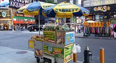 #Travel to New York City for the Hot Dog Stands...