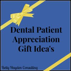 Are you looking for a fun way to thank your dental patients for their referrals and encourage your patients to tell their friends, family, neighbors and co-workers about your office? Look no furthe...