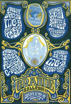 MC5 1967-Great Michigan Band Poster