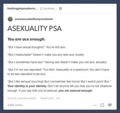 Read it over and over again and remember that you're valid.