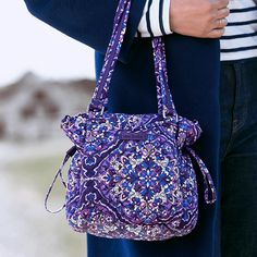 Toss odds and ends into the roomy main compartment — or use the clever storage spots, such as the spacious front and back pockets on the bag's outside — to ensure everything has its place. Whats New, Spice Things Up, Color Patterns, Vera Bradley, Style Icons, Addiction, Satchel, Glamour, Backpacks