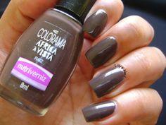 Lily's Nail: Desafio 10 cores 10 marcas - Marrom