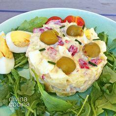 Ensaladilla de huevo al estilo americano < Divina Cocina