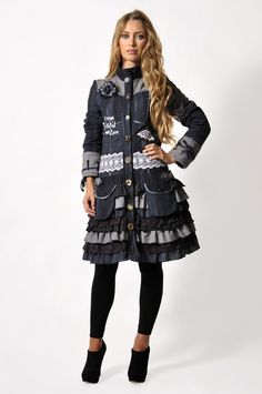 Savage Culture: I Love Paris In The Winter Coat, only on wildcurves.com!