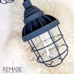 kwantum industriële kooilamp bully lamp