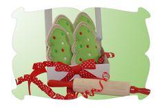 Christmas Tree Felt Play Food Cookies - DigiStitches