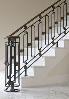 Louis XVI styled rail.