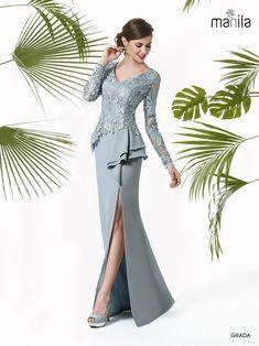 Plus Size Designer Dresses: Stylish, Flattering & Sexy Blousedesigns Fancy Wedding Dresses, Elegant Dresses, Prom Dresses, Formal Dresses, Bride Dresses, Mother Of Groom Dresses, Mothers Dresses, Traje A Rigor, Lace Evening Gowns