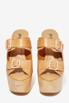Nasty Gal Woodstalk Platform - Shoes | Sandals | From Faraway Nearby | Platforms