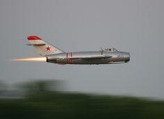 Mikoyan-Gurevich MiG-17 by Christopher Ebdon, via Flickr