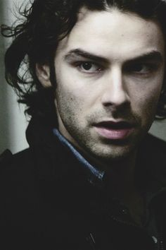 Aidan Turner // I'm not usually a fan of long-haired men but I just want to run my fingers through those gorgeous curls!