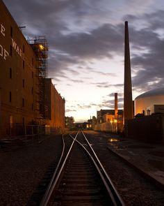 Grand Junction Railroad Redux - tracks near MIT.