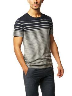 Beeton Jasper Stripe T-shirt for men.    Good job, Theory.