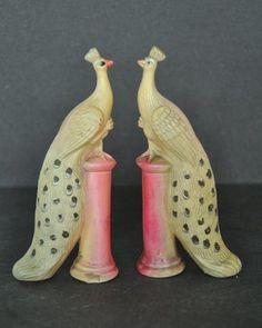 """Check out this beautiful 2 Pcs Vintage Figurine Of Love Birds/Peacocks Sitting On Stand Made of Celluloid In Japan   Singhalexportsjodhpur.Com and search for """"36184"""" in the search box  Use code EARLYBRD5 to get amazing discounts.  LALJI HANDICRAFTS - WORLDWIDE SHIPPING - EXCLUSIVE HANDICRAFTS  INDIAN DECOR INDUSTRIAL DECOR VINTAGE DECOR POP ART MOVIE POSTERS VINTAGE MEMORABILIA FRENCH REPLICA  #oldtoy #oldtoys #celluloidtoy #raretoy #celluloidtoys #toyfigure #toyfigurine #giftsforher…"""