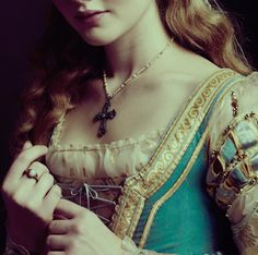 Costume, of Lucrezia Borgia maybe?