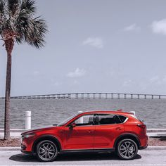 Just when you thought the seascape couldn't get any more scenic. The 2017 #MazdaCX5. Captured by Instagram user @iambranford.