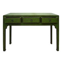 Aksu Sofa Table $2700 - OMG that's expensive, but I like the colour!