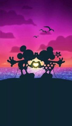 Disney's mickey & minnie:) doodles disney achtergrond, achtergronden и Disney Amor, Walt Disney, Deco Disney, Cute Disney, Disney Magic, Mickey Love, Mickey And Friends, Mickey Minnie Mouse, Mickey And Minnie Kissing
