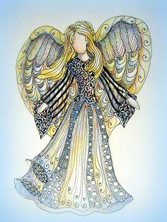 Christmas Angel 2011 by ledenzer, via Flickr