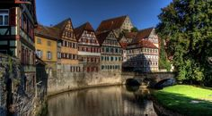 Germany Schwäbisch Hall River