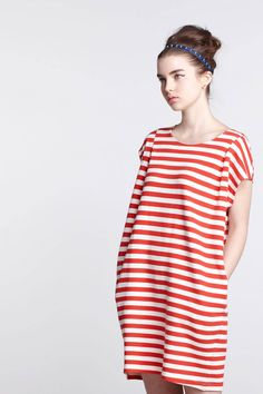 Sale Alert// Additional 25% off all sale items. Mini Stripe Shift - Anthropologie.com