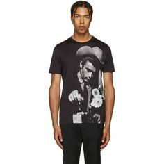 Dolce & Gabbana - Black James Dean T-Shirt