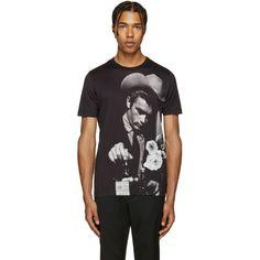 Dolce & Gabbana - Black James Dean T-Shirt
