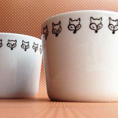 2 mugs peints à la main Cam LE MAC'