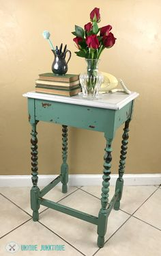 Would you like to add a pop of the color green in your home? Check out 20 Green Painted Furniture Makeovers, including paint colors, and get inspired!