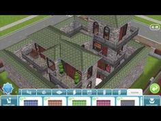 Sims Freeplay House Design // Modern Castle