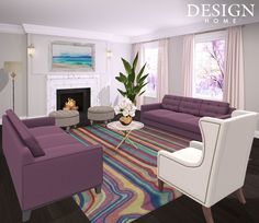 Design Home App, House Design, Contemporary, Rugs, Home Decor, Farmhouse Rugs, Decoration Home, Room Decor, Architecture Design