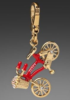 Juicy Couture charm - bicycle