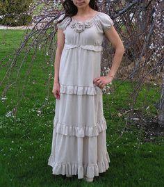 Ivory sunlight dress tutorial