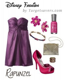 Disney Fashion by Target - Rapunzel  Can you believe everything here comes from Target?!