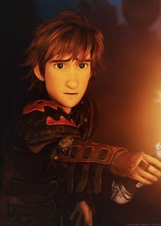 I can't believe how cute Hiccup is. If I ever get a boyfriend, it will look like him!