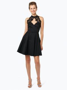 Lipsy czarna sukienka koktajlowa z koronką w dekolcie, sukienki na wesele Formal Dresses, Black, Fashion, Dresses For Formal, Moda, Formal Gowns, Black People, Fashion Styles, Formal Dress