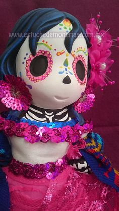 Catrina, Sugar skull Día de muertos, Halloween