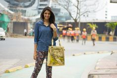 the gold tote