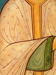 Byzantine Icons, Byzantine Art, Religious Icons, Religious Art, Icon Clothing, Inca Empire, Painted Clothes, Art Icon, Orthodox Icons