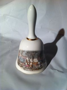 1978 Avon Award Ceramic Bell by DiscoveringFun on Etsy, $36.00