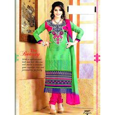 DESIGNER EMBROIDERED SUIT DRESS MATERIAL