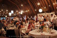Barn Wedding Reception. love it