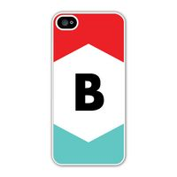 Personalized with your initial, the Tri-Color iPhone case has a fun and modern look! #iphone5case #iphonecase #phonecase #expressionery