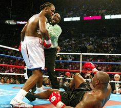 lennox lewis vs mike tyson - Google Search