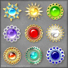 Mystic Gems (lottery prizes) by Rittik-Designs on DeviantArt